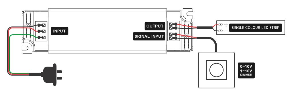 1-10V led driver wiring diagram