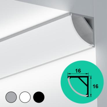 LED Profile – Corner | Round