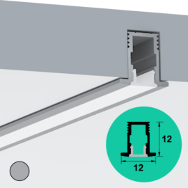 LED Profile – Recessed | Micro | Deep