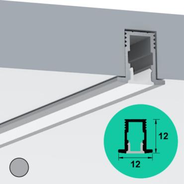 LED Profile – Recessed | Micro | Deep