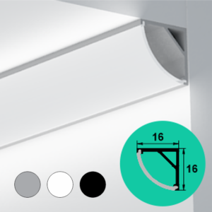 LED Profile – Corner | Round