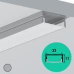 LED Profile – Surface | Large | Shallow