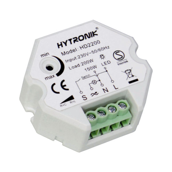 Push-type Trailing Edge Dimmer Switch