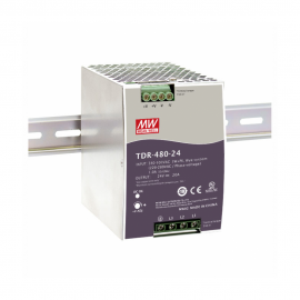 Mean Well TDR-480 Series DIN Rail Power Supply