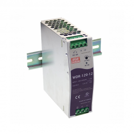 Mean Well WDR-120 Series DIN Rail Power Supply