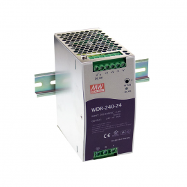 Mean Well WDR-240 Series DIN Rail Power Supply