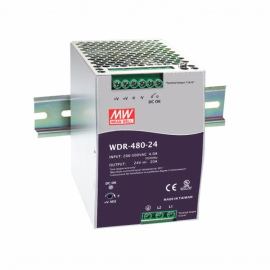 Mean Well WDR-480 Series DIN Rail Power Supply