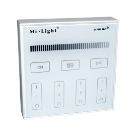 LED Dimmer Wireless Wallplate