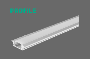 LED Strip Light Aluminium Profile