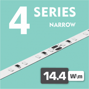 Series 4 | 14.4W - 120LEDs /m