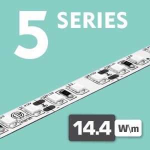Series 5 | 14.4W - 120LEDs /m