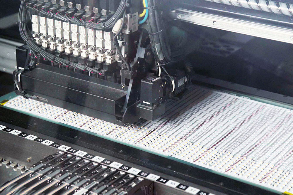 LED Placement Machine
