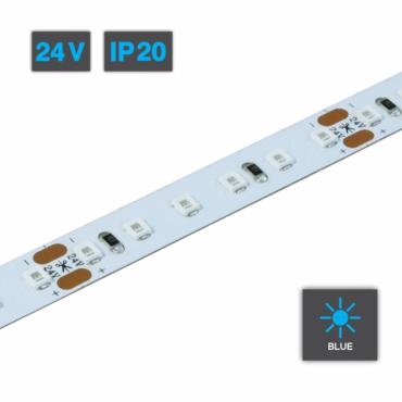 Flexible LED Strip Light Blue 24V IP20