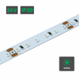 Flexible LED Strip Light Green 24V IP20