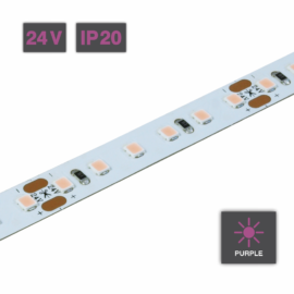 Flexible LED Strip Light Purple 24V IP20