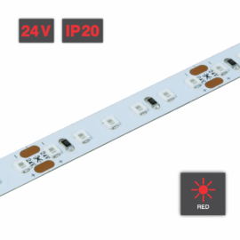 Flexible LED Strip Light Red 24V IP20