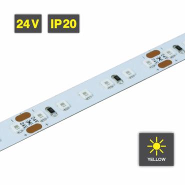 Flexible LED Strip Light Yellow 24V IP20