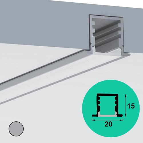 LED Profile – Recessed   Mini   Deep