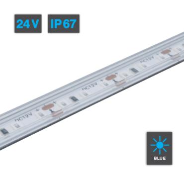 LED Strip Light Blue 24V IP67