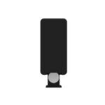 Mini Remote Control Dimmer Backside